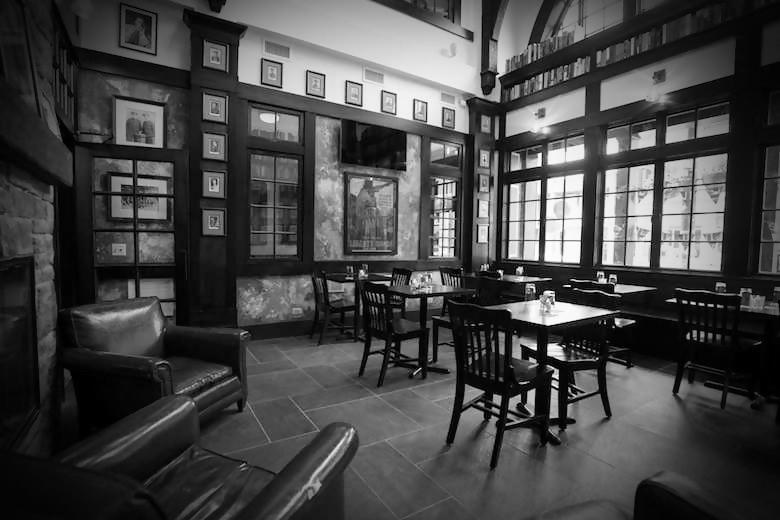 inside the red lion pub