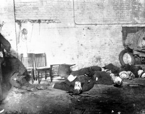 Site of the St. Valentine's Day Massacre - Photo