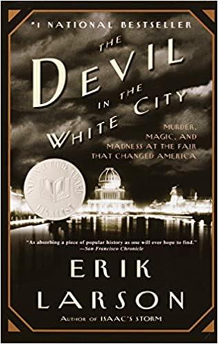 "book cover ""The devil in the white city"""