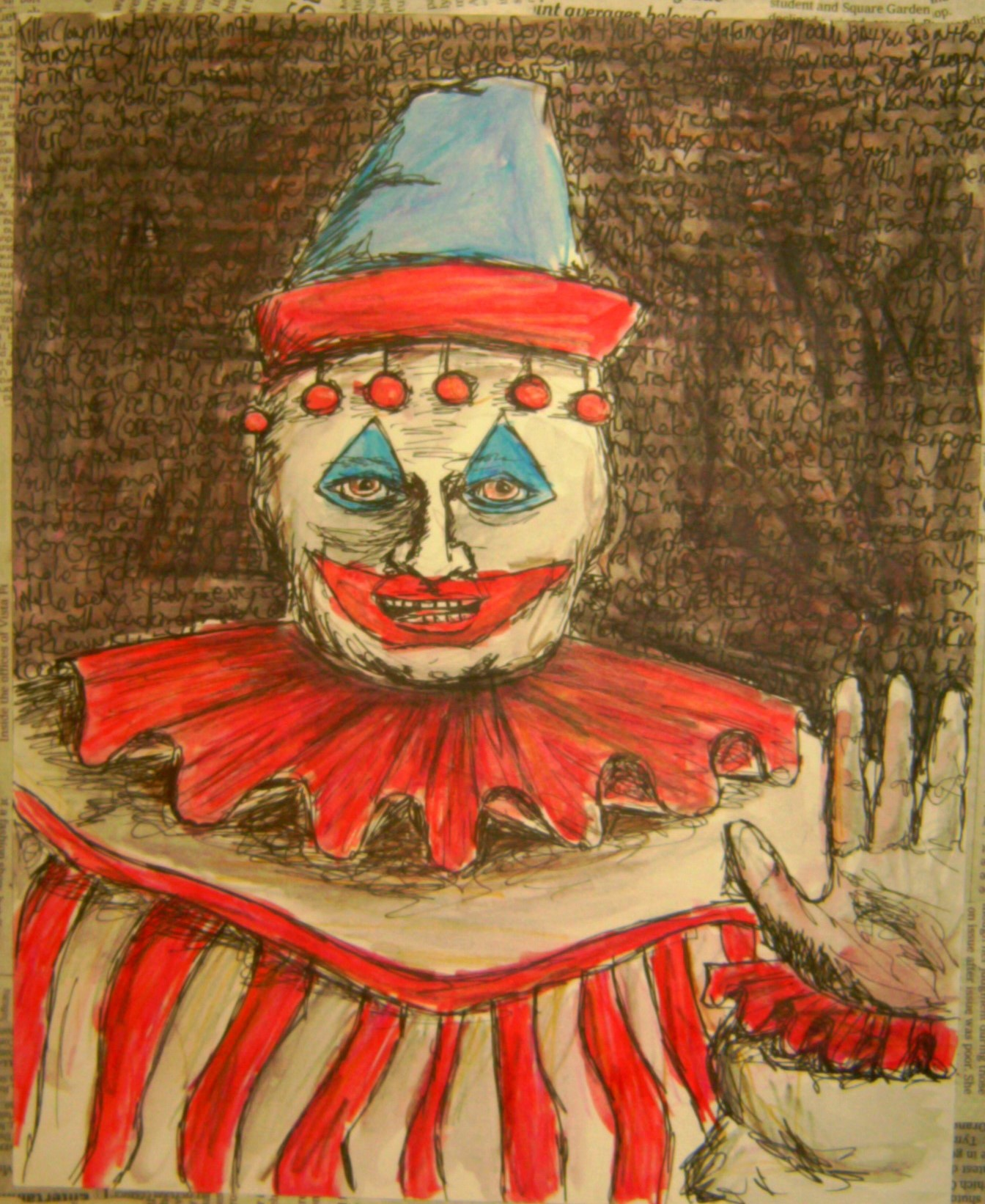 John Wayne Gacy, the Killer Clown - Photo