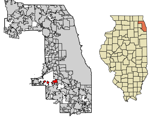Map of Palos County